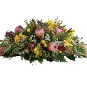 Wildflower Casket